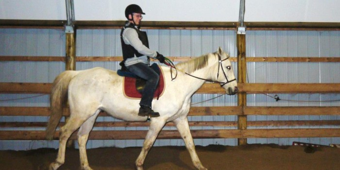 Interested in taking horseback riding lessons?
